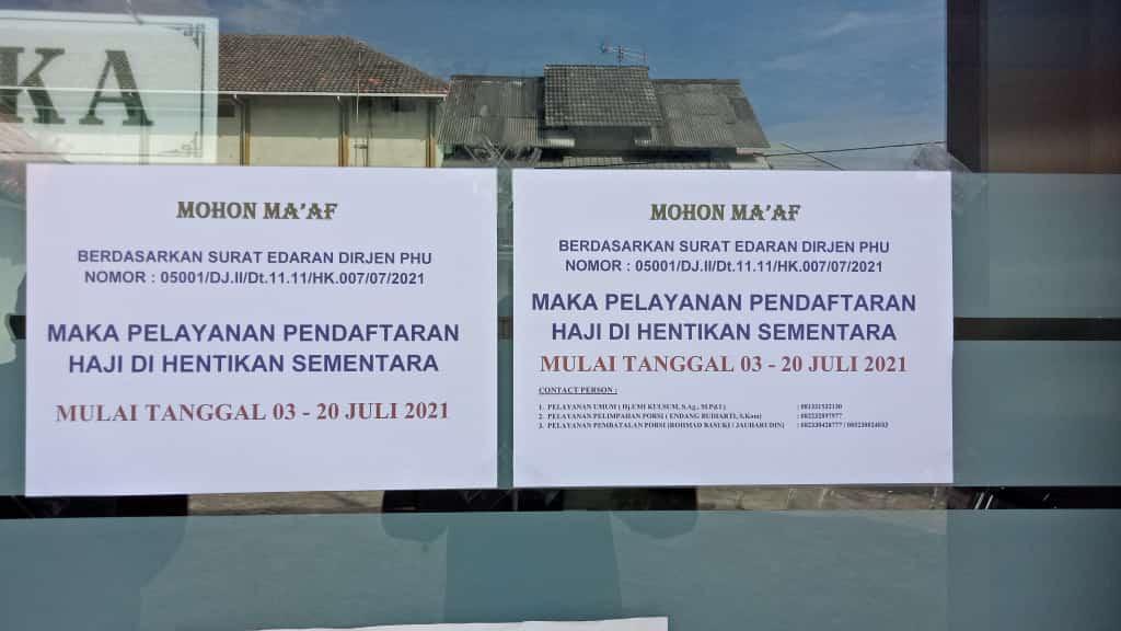 PPKM Darurat, Bagaimana Pendaftaran Haji di Kabupaten Tuban