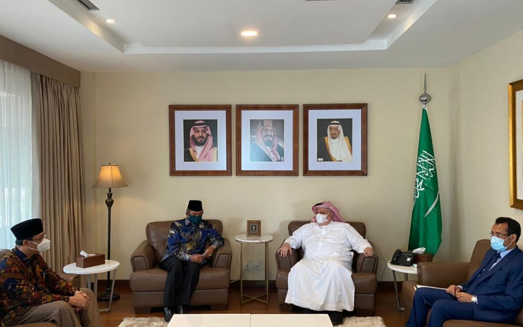 Kemenag & Kedubes Saudi Bahas Penyelenggaraan Umrah 1443 H