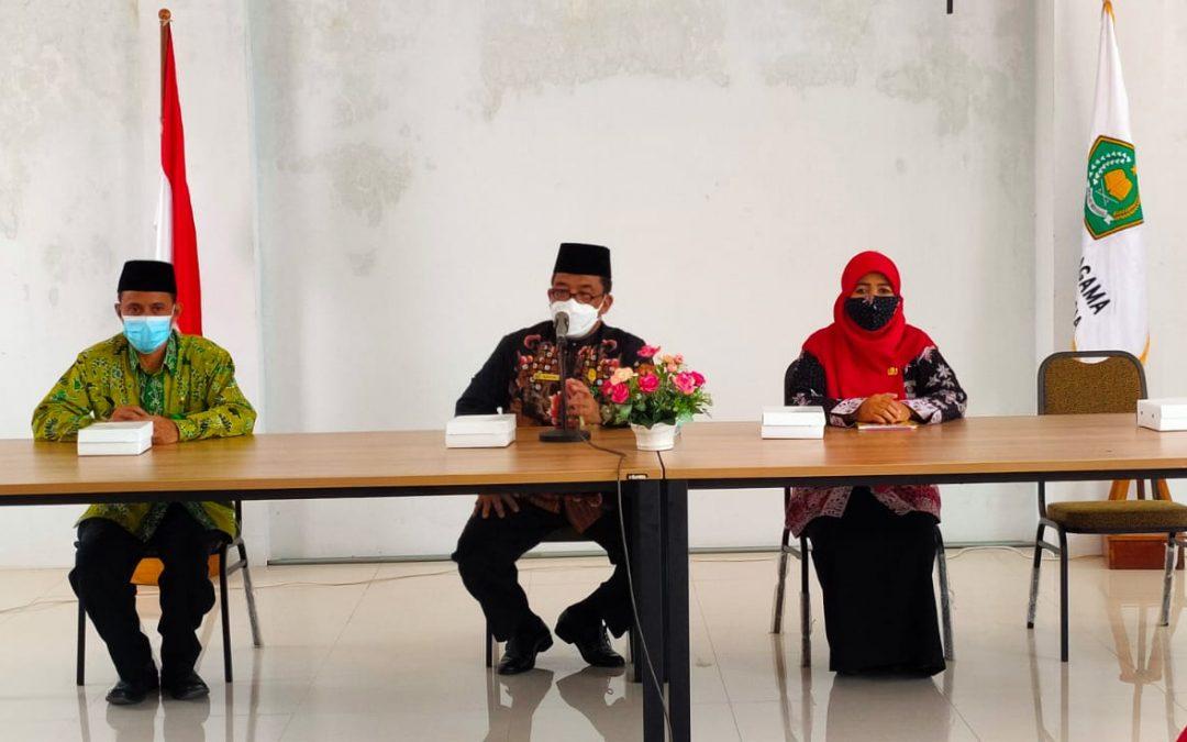 Pembinaan Guru DPK, Kemenag Tuban Ingatkan Budaya Malu